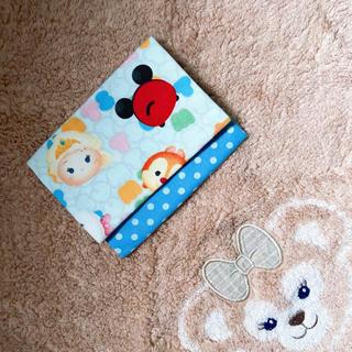 ディズニー(Disney)の♡⃜ハンドメイド♡⃜ツムツム移動ポケット♡⃜(ポーチ)