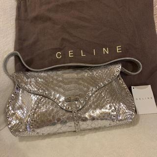 セフィーヌ(CEFINE)のCELINE☆セリーヌ スタッズ付パイソンレザーバッグ(ショルダーバッグ)