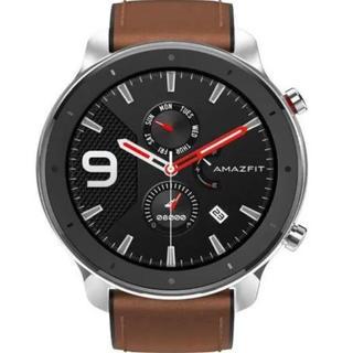 【新品】Amazfit GTR 47mm  スマートウォッチ 日本語対応(腕時計(デジタル))