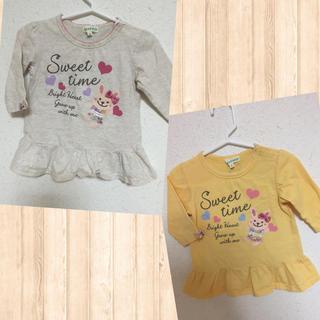 サンカンシオン(3can4on)の3can4on 七分袖Tシャツ 2枚(Tシャツ/カットソー)