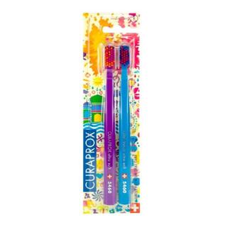 《限定クラプロックス》迷彩柄(パープル&ブルー)ウルトラソフト5460(歯ブラシ/デンタルフロス)