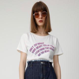マウジー(moussy)のロゴTシャツ(Tシャツ(半袖/袖なし))