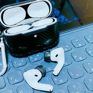 アップル(Apple)のApple AirPods Pro ケース カラビナ付き(ヘッドフォン/イヤフォン)