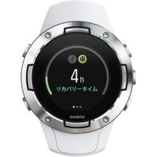 スント(SUUNTO)のSUUNTO 5 G1 WHITE (スント5 ホワイト) 正規輸入品(腕時計(デジタル))