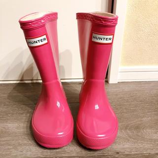 ハンター(HUNTER)のHunter size7 13㌢新品(長靴/レインシューズ)