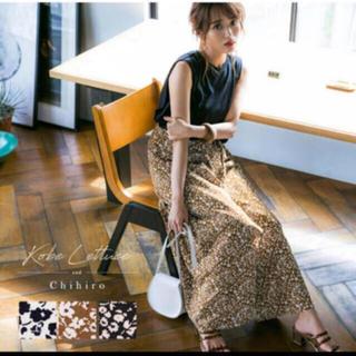 神戸レタス - 花柄 スカート 2way パンツ