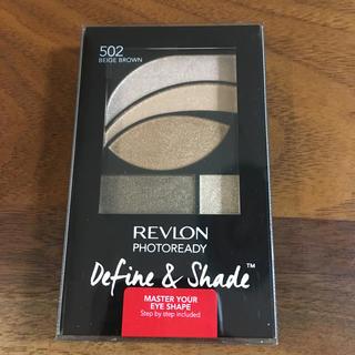 REVLON - レブロン フォトレディ ディファイン&シェード◎502ベージュブラウン