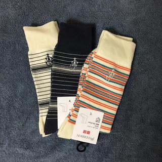 ユニクロ(UNIQLO)の新品未使用 ユニクロ jwanderson 靴下 ソックス 3足セット(ソックス)