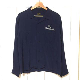 テンダーロイン(TENDERLOIN)のTENDERLOIN テンダーロイン インクブルー  ボウリング レーヨンシャツ(シャツ)