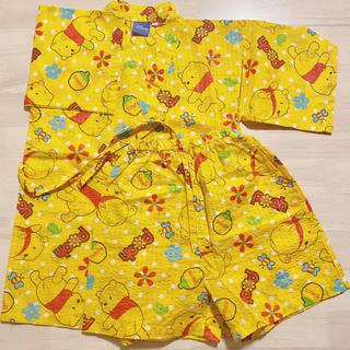 ディズニー(Disney)のDisney くまのプーさん 甚平 100cm(甚平/浴衣)