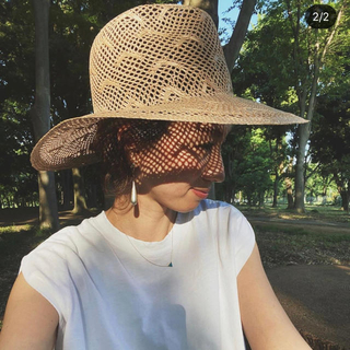 カシラ(CA4LA)のmarihoja seagull kanai lace hat(ハット)