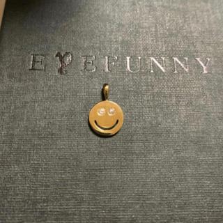 アイファニー(EYEFUNNY)のアイファニー ネックレス スマイル 極美品 ニコちゃん(ネックレス)