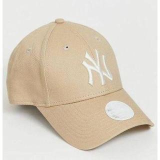 ニューエラー(NEW ERA)のニューエラ キャップ ヤンキース NY ベージュ 限定色(キャップ)