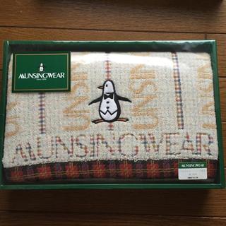 マンシングウェア(Munsingwear)のMUNSINGWEAR マイシングウエア バスタオル ペンギン(タオル/バス用品)