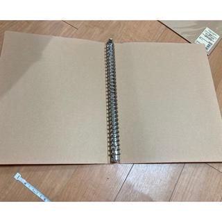 ムジルシリョウヒン(MUJI (無印良品))の無印 美品 無印良品 バインダー ファイル 30穴(ファイル/バインダー)