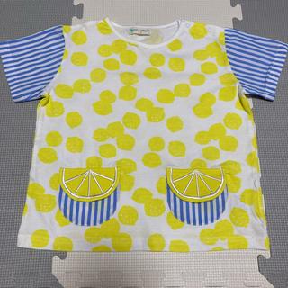センスオブワンダー(sense of wonder)のベイビーチアーのレモンTシャツ 120(Tシャツ/カットソー)