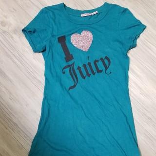 ジューシークチュール(Juicy Couture)のJuicy Coutureジューシークチュール 中古良品フロントロゴチュニックT(Tシャツ(半袖/袖なし))