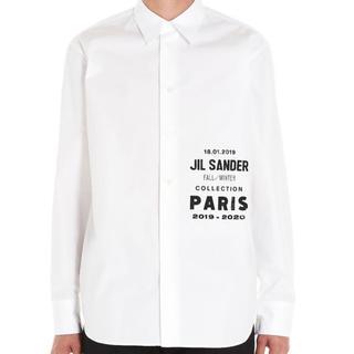 Jil Sander - Jil Sander ロゴシャツ サイズ41
