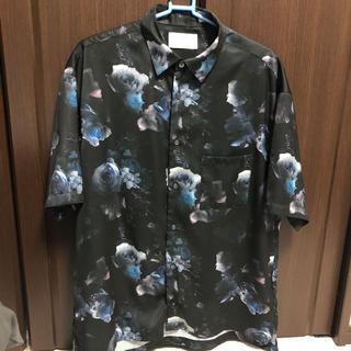 STUDIOUS - 新品同様品 studious size1 ダークフラワーシャツ