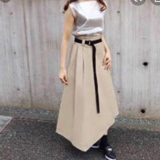 新品 石原さとみさん着用デザイン☆AULA ラップスカート