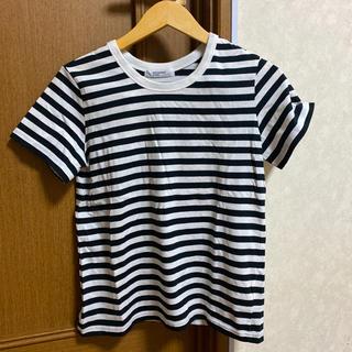 バックナンバー(BACK NUMBER)のボーダー Tシャツ ライトオン(Tシャツ/カットソー(半袖/袖なし))