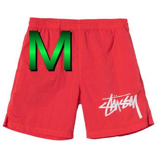 ステューシー(STUSSY)の【M】STUSSY NIKE WATER SHORT red(ショートパンツ)