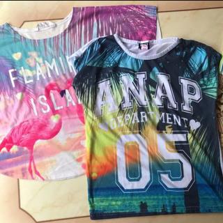 アナップキッズ H&M  Tシャツ 2枚セット