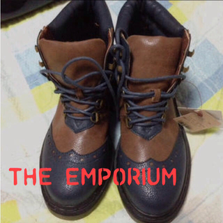 ジエンポリアム(THE EMPORIUM)の新品*オックスフォードブーツ(ブーツ)