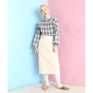 ノートエシロンス(note et silence)の月末セール caph コーデュロイスカート(ひざ丈スカート)
