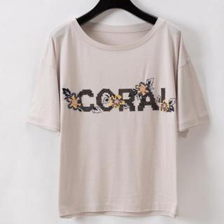 グレースコンチネンタル(GRACE CONTINENTAL)のグレースコンチネンタル クロスステッチロゴトップ(Tシャツ(半袖/袖なし))