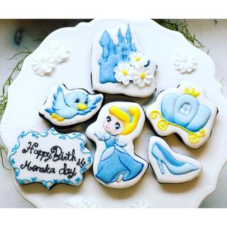 アイシングクッキー オーダー受付 お誕生日クッキー ココアクッキー(菓子/デザート)