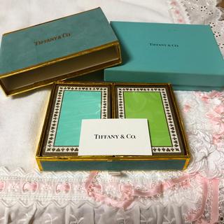ティファニー(Tiffany & Co.)のティファニー トランプ 新品(トランプ/UNO)