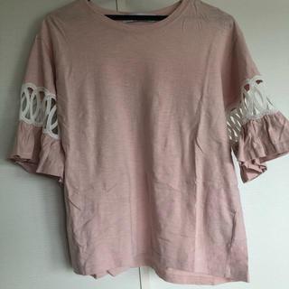 ディーホリック(dholic)の美品♡DHOLIC カットソー(Tシャツ/カットソー(七分/長袖))