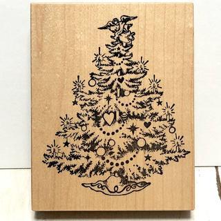スタンプ クリスマスツリー(印鑑/スタンプ/朱肉)