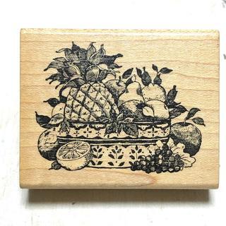 スタンプ 果物(印鑑/スタンプ/朱肉)