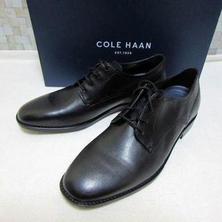 コールハーン(Cole Haan)の未使用 COLE HAAN ビジネスシューズ 外羽根プレーントゥ 革靴 27cm(ドレス/ビジネス)