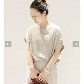 プラージュ(Plage)のplage リヨセルハイゲージTシャツ(Tシャツ(半袖/袖なし))