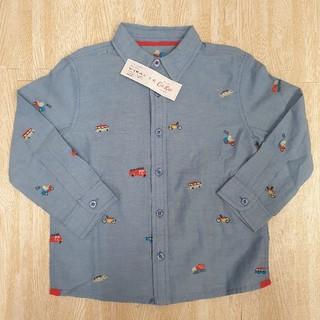 キャスキッドソン(Cath Kidston)のキャスキッドソン 働く乗り物 長袖シャツ 子供服(ブラウス)