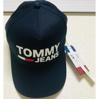 トミーヒルフィガー(TOMMY HILFIGER)の新品.  早い勝ち.  TOMMY JEANS.  キャップ(キャップ)
