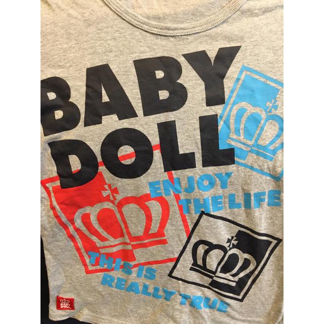 BABYDOLL(ベビードール)のベビードール半袖Tシャツレディースキッズビッグロゴ男の子女の子春夏秋 レディースのトップス(Tシャツ(半袖/袖なし))の商品写真