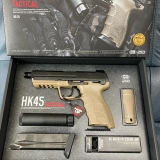 東京マルイ HK45 タクティカル ガスブロ新品同様(その他)
