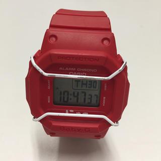 ベビージー(Baby-G)のBaby-G にゃー BGD-501-4BDR レッド(腕時計)
