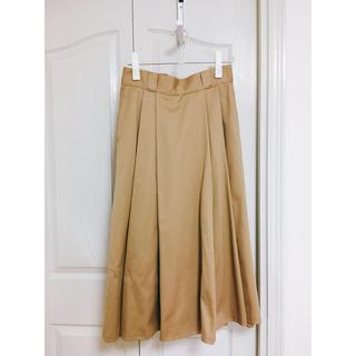 ダントン(DANTON)の(⚈ ̍̑⚈͜ ̍̑⚈)様専用 DANTON タックロングスカート size38(ロングスカート)