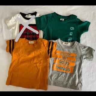 ブランシェス(Branshes)の(80cm)branshes▲Tシャツ4枚せっと(Tシャツ)