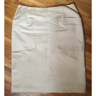 デプレ(DES PRES)のmame様専用 デプレ ベージュスカート(ひざ丈スカート)