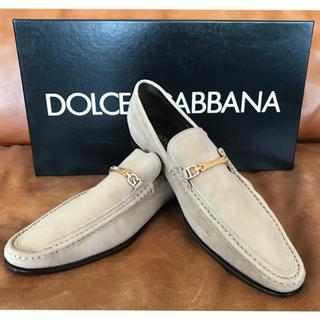 ドルチェアンドガッバーナ(DOLCE&GABBANA)のmocassino cashmemire +fodera ドルガバ  靴(スリッポン/モカシン)