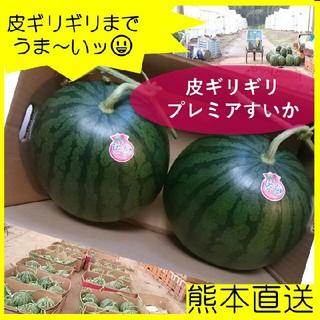 (黒小玉スイカ2玉)小玉スイカ 果物、すいか、西瓜、ウォーターメロン(フルーツ)