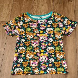 グラグラ(GrandGround)の【GRANDGROUND】Tシャツ 総柄(Tシャツ/カットソー)