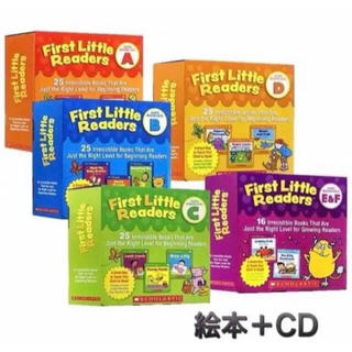 First Little Readers A +CD(洋書)
