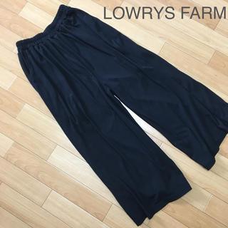 ローリーズファーム(LOWRYS FARM)のnamii8008様専用になります ガウチョパンツ LOWRYS FARM 黒(キュロット)